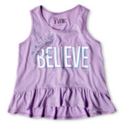 Tinker Bell Ruffled Tank Top - Girls 6-16