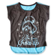 Tinker Bell Never Grow Up Graphic Tee - Girls 6-16