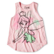 Tinker Bell Watercolor Racerback Tank Top - Girls 6-16
