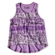 Tinker Bell Sketch Tank Top - Girls 6-16
