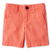 Arizona Flat-Front Shorts - Boys 12m-6y