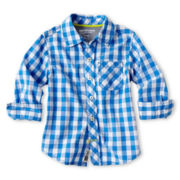Arizona Plaid Woven Shirt - Boys 12m-6y