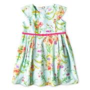 Baker by Ted Floral Dress - Girls newborn-24m