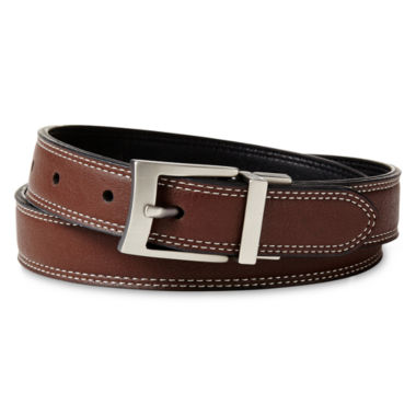 jcpenney.com | IZOD® Contrast Stitch Reversible Belt - Boys