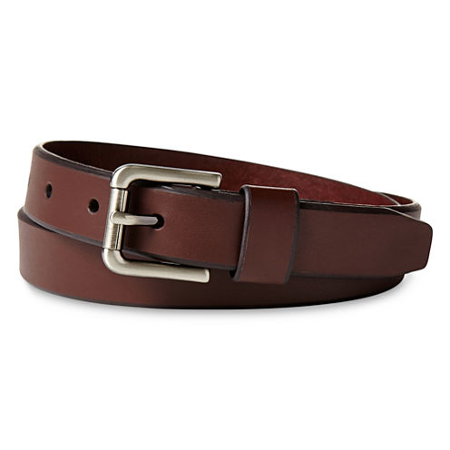 IZOD® Brown Cut Edge Belt - Boys 8-20
