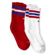 adidas® 2-pk. Team Crew Socks - Boys