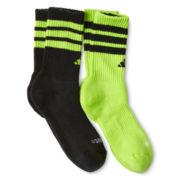 adidas® 2-pk. Team Crew Socks - Boys