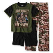 Duck Dynasty 3-pc. Pajama Set - Boys 4-12