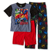 Justice League 3-pc. Pajama Set - Boys 4-12