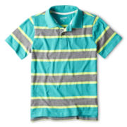 Arizona Multi-Stripe Polo Shirt - Boys 6-18