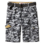 Levi's® Huntington Gray Camouflage Cargo Shorts - Boys 8-20