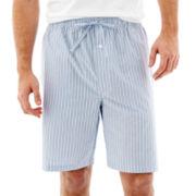 Stafford® Woven Pajama Shorts–Big & Tall