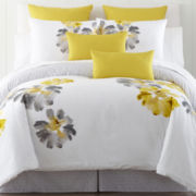 jcp home™ Flower Power 4-pc. Comforter Set & Accessories