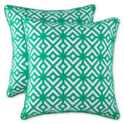 Line Diamond 2-pk. Decorative Pillows