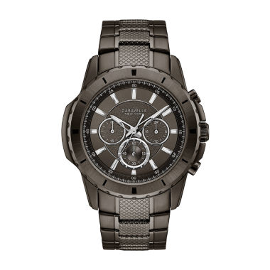 jcpenney.com | Caravelle New York Mens Gray Bracelet Watch-45a139
