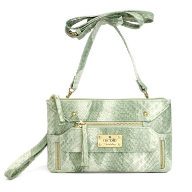 jcpenney.com | nicole by Nicole Miller® Charlie Wristlet Crossbody Wallet