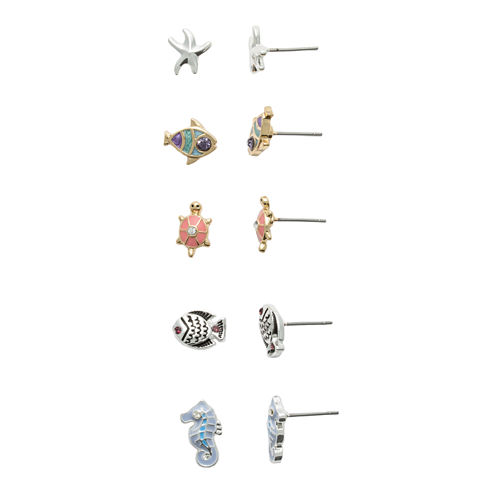 Mixit 5-pc. Earring Sets