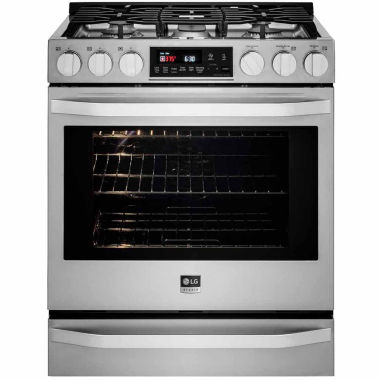 jcpenney.com | LG 6.3 Cu. Ft. Gas Slide-in Range