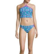 Arizona Timeless Traveller Midkini Swim Top Or Scrunch Hipster Swim Bottom - Juniors