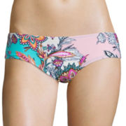 Arizona Paisley Sundays Scrunch Merrow Hipster Swim Bottom - Juniors