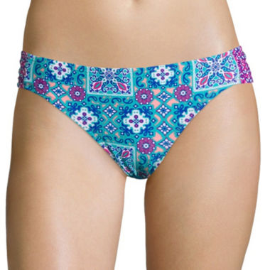 jcpenney.com | Arizona Timeless Traveller Scrunch Hipster Swim Bottom - Juniors