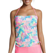 Arizona On Safari Palm Bandeaukini Swim Top - Juniors