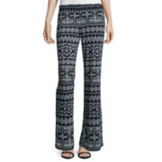 by&by Smock-Waist Printed Pants