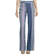 By & By Vertical Print Soft Pants