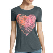 Arizona Short-Sleeve Draped Graphic T-Shirt