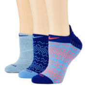 Nike® 3-pk. Graphic No-Show Socks