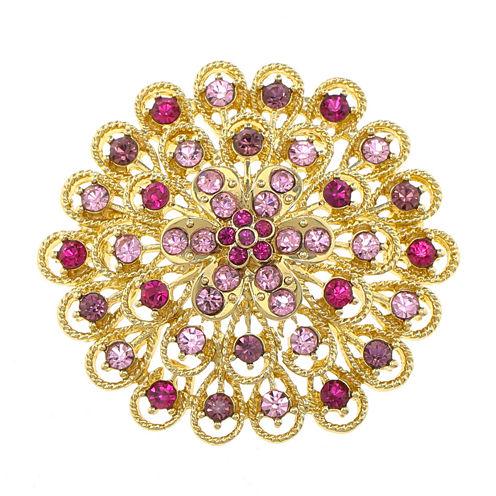 Monet® Cluster Flower Pin