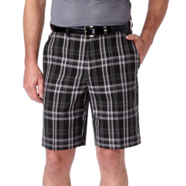 jcpenney.com | Haggar C18 Flat Front Plaid Short