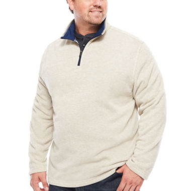 jcpenney.com | IZOD® Spectator Sweater  Fleece Quarter Zip- Big & Tall
