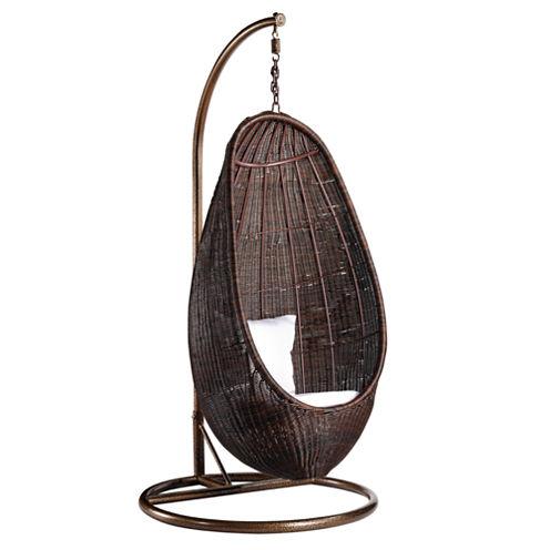Rattan Hanging Conversational Chair
