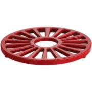 "Tramontina® Gourmet 7"" Enameled Cast Iron Round Trivet"