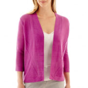 Worthington® Open-Front Cardigan Sweater