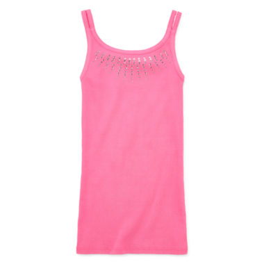 jcpenney.com | Total Girl® Ribbed Tank Top - Girls 7-16 and Plus
