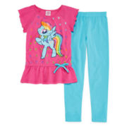 My Little Pony Tunic Dress and Leggings Set - Toddler Girls 2t-4t