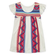 Arizona Flutter Sleeve Top - Girls 7-16 and Plus