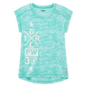 Reebok® Burnout High-Low Tee - Girls 7-16