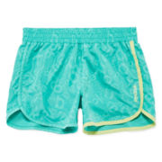 Reebok® Logo Shorts - Girls 7-16