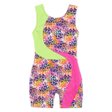 jcpenney.com | Jacques Morét Bright Spots Biketard - Girls 7-16