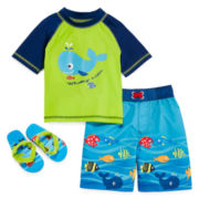 3-pc. Swim Set - Toddler Boys 2t-4t