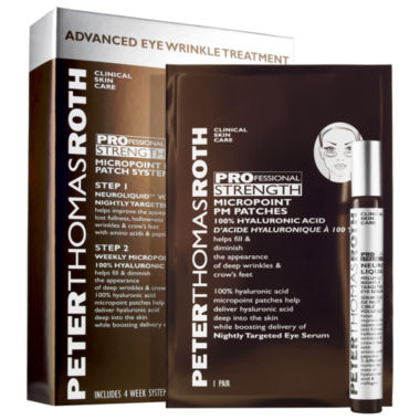 jcpenney.com | Peter Thomas Roth PROfessional Strength MicroPoint PM Patch System Advanced Eye Wrinkle Treatment