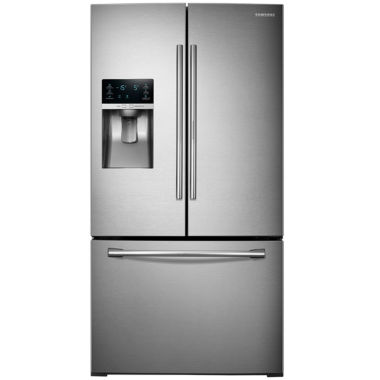 jcpenney.com | Samsung ENERGY STAR® 27.8 cu. ft. 3-Door French-Door Refrigerator with Food Showcase Design