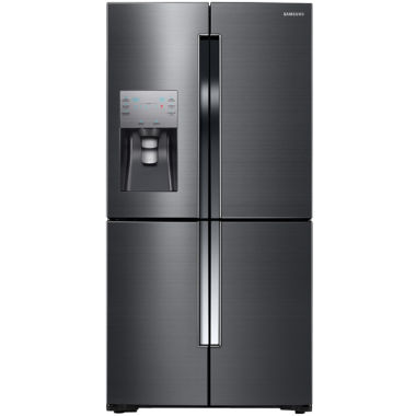 jcpenney.com | Samsung ENERGY STAR® 23 cu. ft. 4-Door French Door Counter Depth Refrigerator with FlexZone™