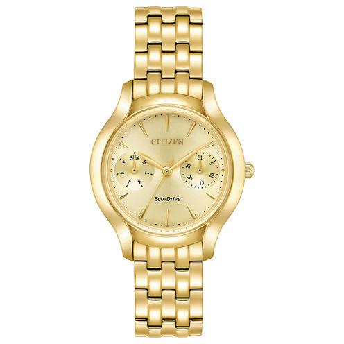 Citizen Womens Gold Tone Bracelet Watch-Fd4012-51p