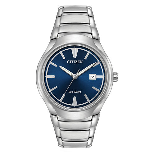Citizen Mens Silver Tone Bracelet Watch-Aw1550-50l