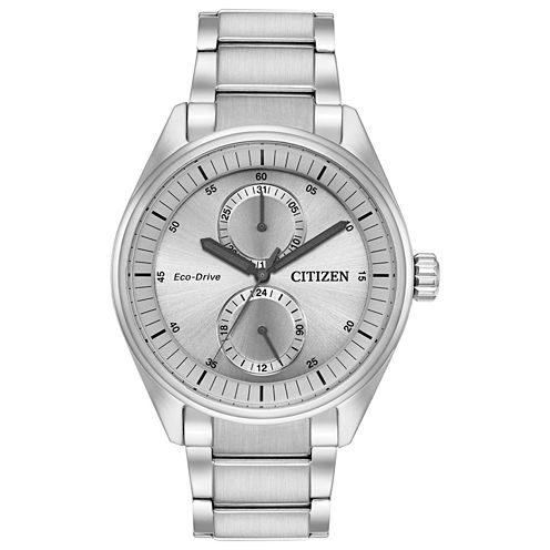Citizen Mens Silver Tone Bracelet Watch-Bu3010-51h
