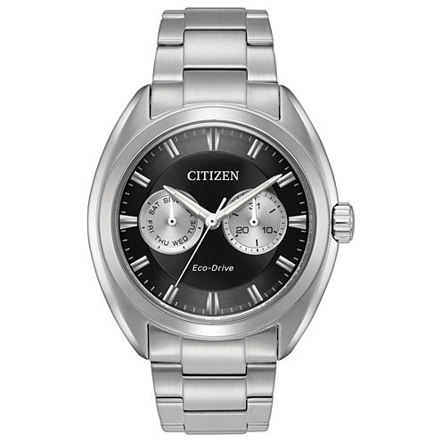 Citizen Mens Silver Tone Bracelet Watch-Bu4010-56e